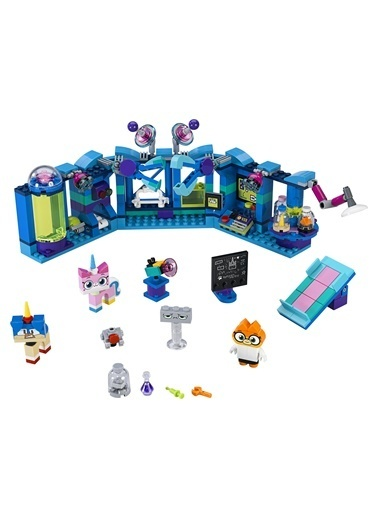 Lego Lego Unikitty Dr. Fox'un Laboratuvarı 41454 Renkli